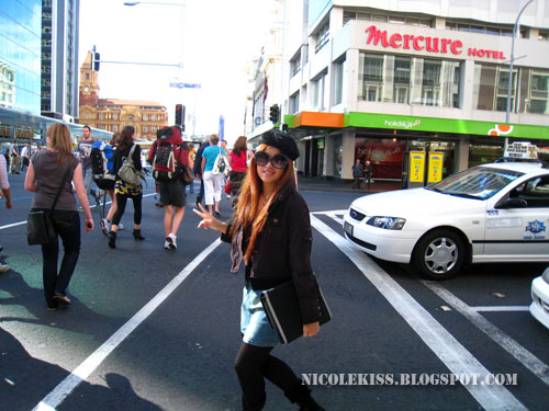 crossing auckland street