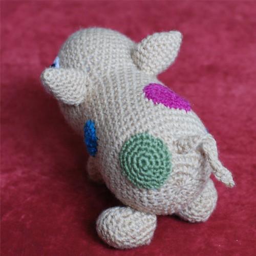 Piglet's back