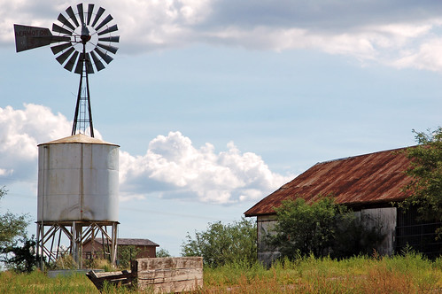 Empire Ranch windmill