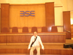 me, chairman of Bombay Stock Exchange