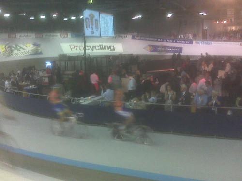 Bos/schep wint koppel sprint