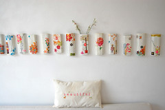 wall vases (ATLITW) Tags: flowers inspiration colour beautiful wall happy design ceramics heart jane collection vase eclectic homedecor papermache sfgirlbybay alltheluckintheworld