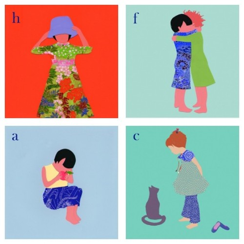 Fine Art for Children by Ida Pearle for The Mini Social Alphabet print series