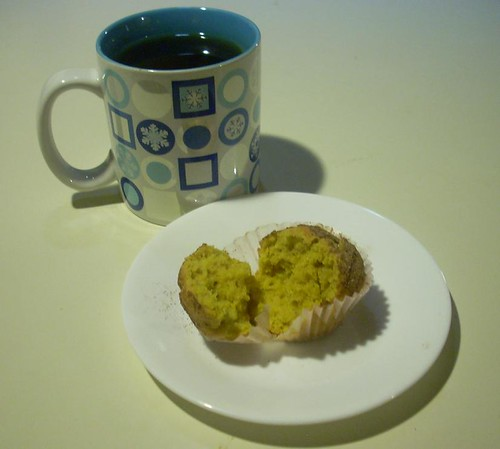 Pumpkin Muffin and Tea