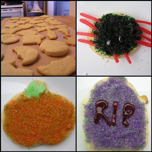 Small Halloween Cookie Collage