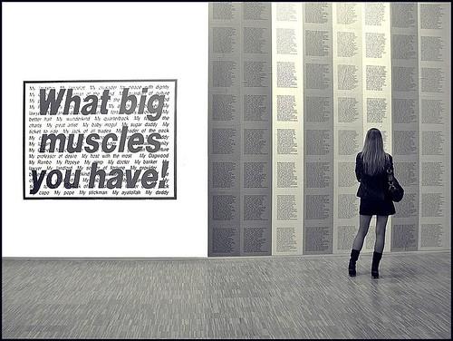 What big muscles you have ! ~ Musée d'Art Moderne ~ Paris ~ MjYj