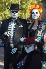 Dia de Los Muertos Parade 7 (RandyTalley) Tags: new de dayofthedead dead mexico los day south albuquerque dia parade valley muertos diadelosmuertosparade
