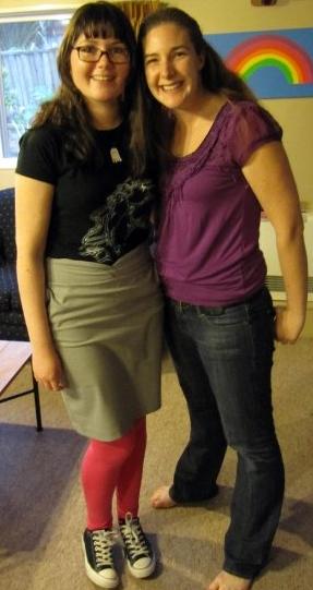 Kim and Kezz