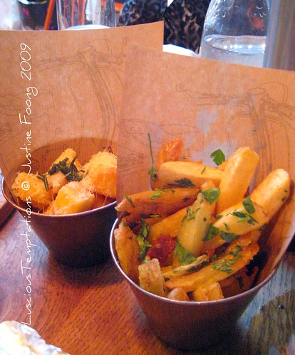 Crispy Polenta Chips and Funky Chips - Jaime's Italian