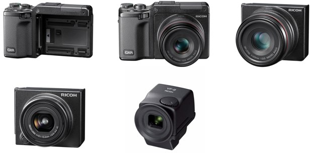 Ricoh GXR product images at Pocket Lint