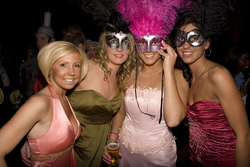 Masquerade Ball at The Detroit Yacht Club and Grand Opening of Fort Street Gallery