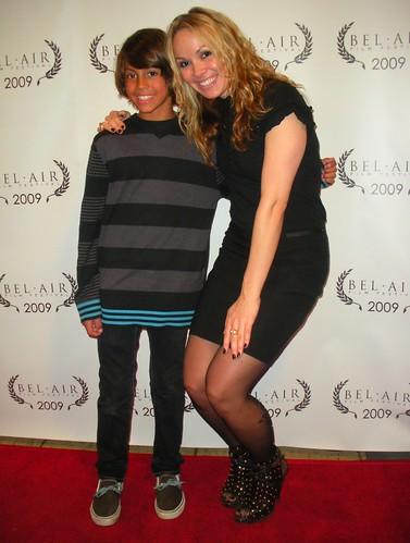 Drake Vasquez, Christina Martina - Bel Air Film Festival - 2009 / UCLA - James Bridges Theatre