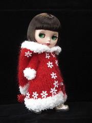 St Nick - Snowflake coat
