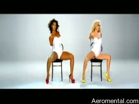 Beyoncé Lady Gaga Video Phone blanco