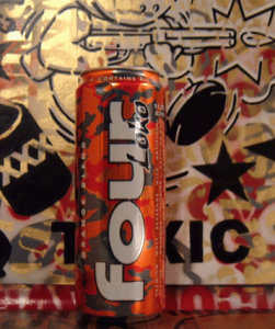 Four Loko Orange Blend