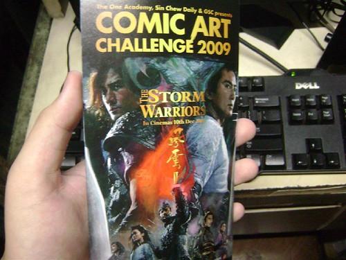 Comic Art Challenge