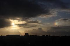 2009-11-15-(022) V1 London Stormy Sky & Sun Dog over Hammersmith (or W Kensington) (Martin-James) Tags: london clouds hammersmith olympia dramaticsky earlscourt sundog stormysky westkensington clearingstorm martinjames empresshouse