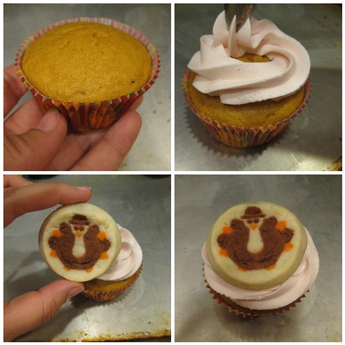 Thanksgiving cupcake tutorial for kids