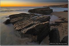 Sea Rocks, Santa Cruz, CA (wilson_ng) Tags: ocean sunset sea cliff santacruz beach water coast nikon rocks tokina highway1 beachsunset californiacoast whirl searocks pantherbeach d90 wilsonng wilsonphotography
