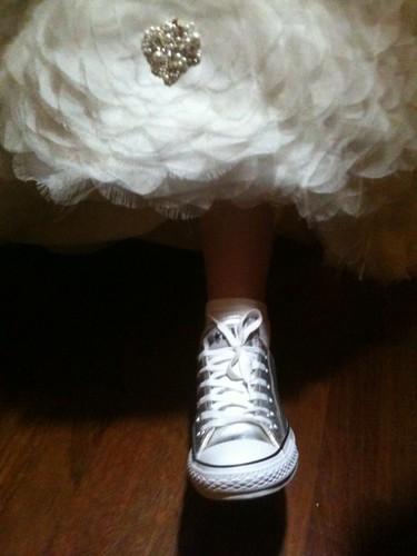and the bride wore Chucks...
