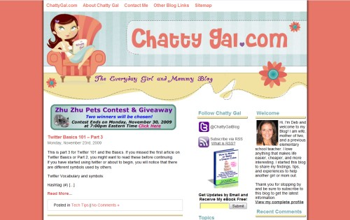 Chatty Gal: The Everyday Girl and Mommy Blog
