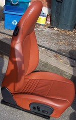 99PorscheCoupe7 (truckandcarseats) Tags: red leather 1999 porsche boxster coupe fronts