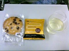 Snack, JAL 722
