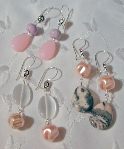 Pastel Earrings Trio
