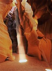 Antelope Canyon (David Shield Photography) Tags: longexposure arizona sun color cathedral canyon page coloradoriver chamber lakepowell slotcanyon antelopecanyon navajosandstone shaftoflight navajonation coth upperantelopecanyon colorphotoaward tsebighanilini lecheechapter flickraward5