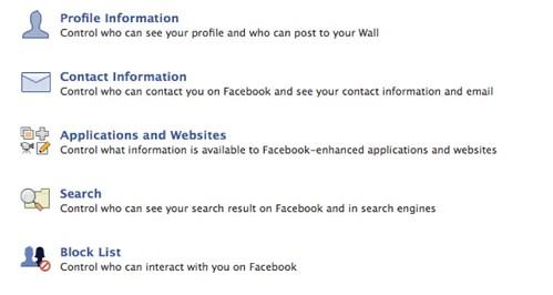 Facebook Security Status update