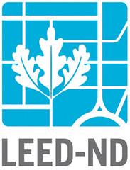 LEED-ND logo (by: USGBC, CNU, NRDC)