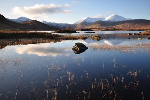 Blackmount across Lochan na h-Achlaise