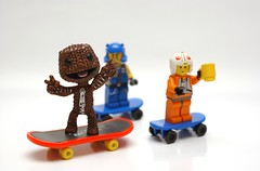 SACKBOY (kingkong21) Tags: rebel lego pilot miner sackboy