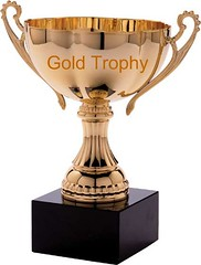 trophy for gold trophy group