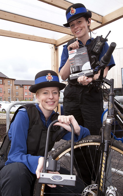 Putting the Brakes on Bike Theft in Wythenshawe by Greater Manchester Police