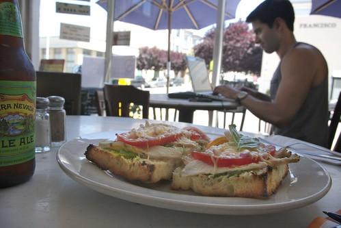 parmesan chicken sandwich