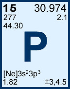 Phosphorus, Whose Atomic Symbol Is P, Is Element 15 On The Periodic Table.  Phosphorus Has Different Colours    White Phosphorus, Red Phosphorus, ...