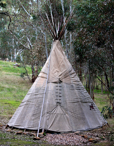 Indian TeePee in Adelaide Hills by StephenMitchell, on Flickr