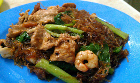 fried glass noodle