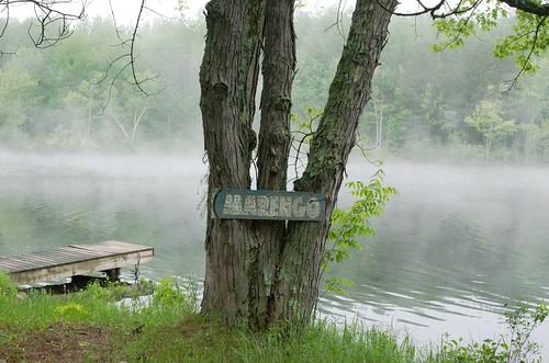 Marengo Lake by Andrea Pokrzywinski