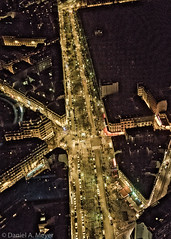 View from Tour Montparnasse (through glass) (Anselm11) Tags: tourmontparnasse stree bynight paris