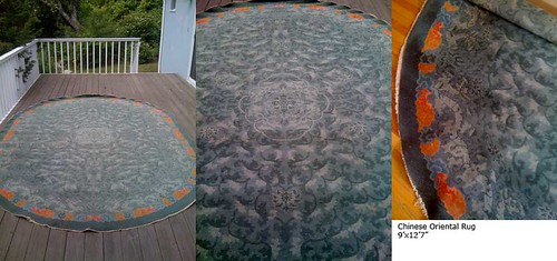 Chinese Oriental Rug 3 views