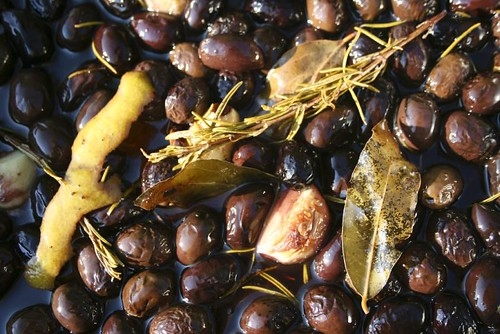 baked olives under the Greek sun