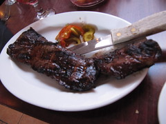 Dawg's skirt steak
