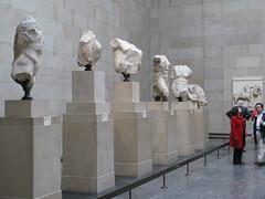 20090408 10 British Museum, Parthenon, Pediment (Grethe.Denmark) Tags: london parthenon britishmuseum