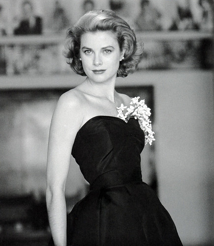 Grace Kelly, 1954 by thefoxling