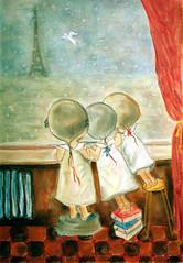 Утро в Париже... (serega:)) Tags: morning people snow paris pastel париж пастель gapchinska гапчинская утровпариже