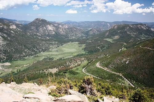 Overlooking Hidden Valley and Sheep Lakes