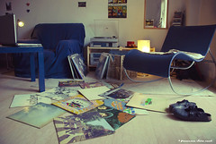 the Beatles room (theBetaRem) Tags: blue music records home vintage carpet mirror shoes girly vinyl player sofa recordplayer record beatles rockingchair seventies sixties scarpe birkenstock oldmusic vinylcollection firstpress nikonflickraward getcreativeonflickr beatlesrecords fotografareilmondointuttelesuesfumature thebeatlesroom