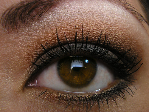 Summertime Smoky Eye Closeup
